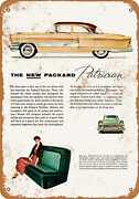 Metal Sign - 1955 Packard Patrician - Vintage Look Reproduction