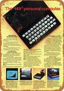 Metal Sign - 1982 Sinclair Zx81 Computer - Vintage Look Reproduction