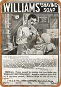 Metal Sign - 1900 Williams' Shaving Soap - Vintage Look Reproduction