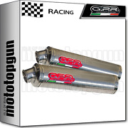 Gpr 2 Mid Full Exhaust System Race Round Ducati Monster S4r 2003 03 2004 04