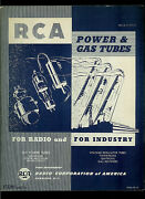 1946 Rca H-v Power And Gas Radio And Industrial Vacuum Tubes Factory Manual Guide