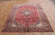 Old Wool Hand Made Persian Oriental Floral Runner Area Rug Carpet323x200cm