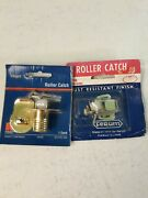 2 Roller Catch Cabinet Door Latches Home Rv Camper Nos In Packages