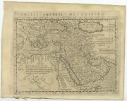 Antique Map Of The Turkish Empire By Magini 1617
