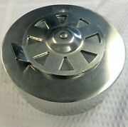 Gpm Big Green Egg Grill Hd Stainless Steel Med Large Xl Daisy Wheel Top Damper