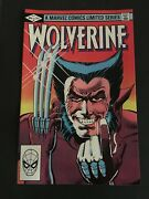 Wolverine 1 Limited Series 9.9 Mint-mint-mint White Pages Ist Solo Wolverine