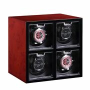 Watch Winder Holder Automatic Mechanical Expandable 2 6 Grid Motor Shaker Case