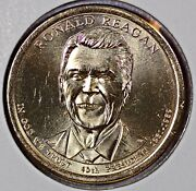 President Ronald Reagan Dollar Coin 2016-d Finish Your Collection