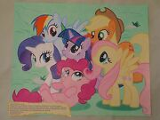 My Little Pony Fim And039mission For Equestriaand039 Artwork Twilight Sparkle Mane Six New