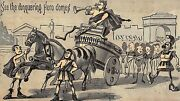 1880and039s Roman Conquest Hero Peerless Wringers Victorian Trade Card P124
