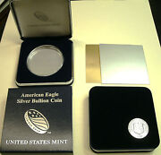 1-current Style-us Mint Cs+h-40mm Acryl Hldr-silver Eagle1coin-no Coin Includ