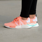 New Adidas Nmd R1 W Sun Glow Shoes By3034 Womens Size 67