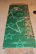 Colorado Rockies Game Used All Star 1998 Banner From Coors Field Rare