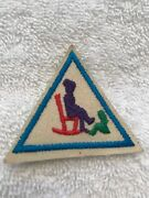 Girl Scout Merit Badge Uniform Patch Story Time Try-it Triangle