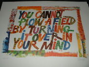 Eric Carle Signed Limited Edition Art Print You Cannot Plow A Field