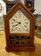 Seth Thomas 8 Day Electric Mantel Clock Parts Or Repair Doesn't Work