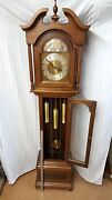 Amana Colonies Case Howard Miller Movement Grandfather Three Weight Clock