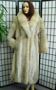 Brand New Coyote Fur Coat Jacket Woman Women Size All