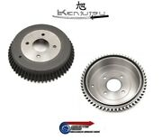New Rare 2x Pair Of Rear Brake Drums - For Datsun S30 240z L24