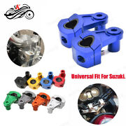 Motorbike Cnc Accessories Handlebar Front Handle Fat Bar Mount Clamps For Suzuki