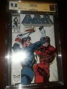 Stan Lee Signed Punisher 10 Cgc Ss 9.8 1988 - Daredevil Vs Punisher Cover