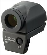 Olympus Electronic View Finder Vf-2 Black For Olympus F/s Japan Used