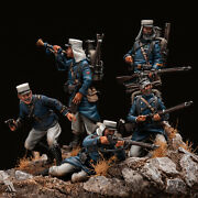 Soldiers Of French Foreign Legion 1903 Tin Painted Toy Soldier Pre Sale | Art