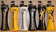6 X Browning Giant Jumbo Size Curve Lighterandbottle Opener Without Fuel / Gas