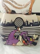 New Disney Dooney And Bourke 2017 Epcot Food And Wine Festival Tote Figment
