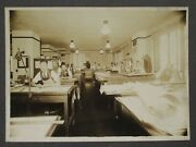 1929 Pittsburgh Pa Engineering Office Engineers Desks Plans Cabinet Card Photo