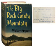 Wallace Stegner / The Big Rock Candy Mountain Signed 1st Edition 1943