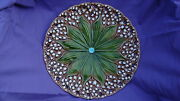 Collectible Plate Majolica Lily Of The Valley Villeroy-boch-schramburg Antique