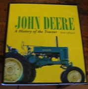 John Deere A History Of The Tractor 2007 Leffingwell Nice Copy Free Us Shipping