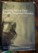 Protecting Society From Sexually Dangerous Offenders 2003 Winick/lafond Rare