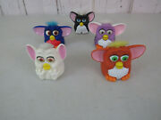 1998 Mcdonalds Kid / Collectibles Happy Meal Furby Toys Lot E11