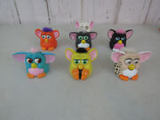 1998 Mcdonalds Kid / Collectibles Happy Meal Furby Toys Lot E13