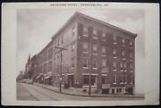 Keystone Hotel Torn Down In Greensburg Pa Us Rt 30 Old Lincoln Highway Postcard