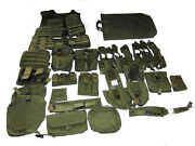 Nfm Group Molle Vest W/belt And Accessories