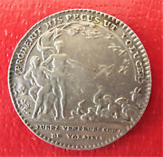 France-1715-1774 - Poultry Quality Controlers - Silver Jeton- Rare