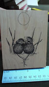 Use House Mouse Wood Stamp 4 Together Under The Moon Love Wedding Valentines Day