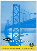 1940 Dow Chemical Co. San Francisco Golden Gate International Exposition Ggie