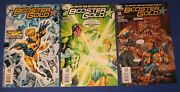 Dc Booster Gold 1-3 Comic Book 2007 Nm Justice League Geoff Johns New 52 Lot