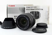 Canon Ef-s 17-85mm F/4-5.6 Is Usm Lens [excellent] 497 From Japan