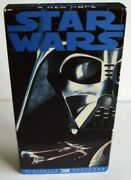 Vhs Star Wars A New Hope 1995 20th Century Fox Release Rare Very Collectible