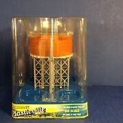 Bachmann Plasticville Water Tower 45008 Ho Scale Brand New Combine Shipping