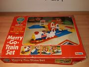 Discovery Time Merry-go Train Set Tomy Palitoy Vintage 70's