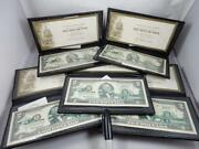 2003 A Set Of 5 Us 2 Dollar Indiana Unc World Reserve In Wallet T104