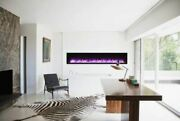 88 Basic Clean-face Symmetry Electric Fireplace W/black Surround