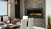 Superior 43 Electronic Linear Vent-free Fireplace W/lights And Glass Pebbles-ng