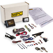 Complete 2-way Remote Start W/ Keyless Entry Kit For 2011-2014 Ford E-350